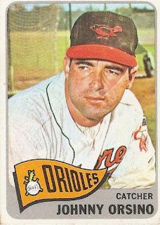 Vintage Fridays: John Orsino, 1965 Topps #303