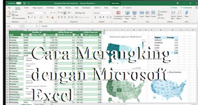Cara Merangking dengan Microsoft Excel