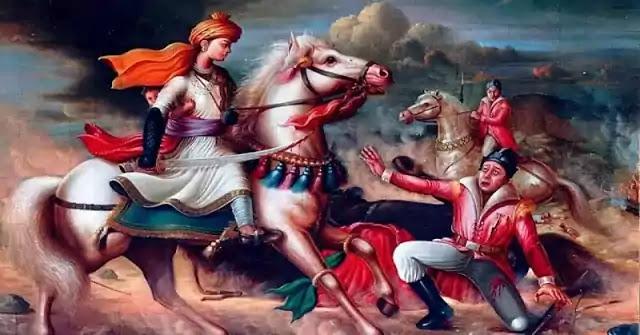 Jhansi ki Rani Laxmi Bai Kavita