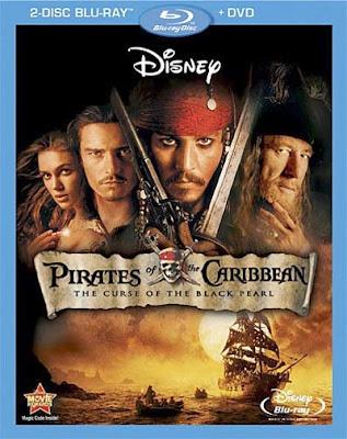 Pirates of the Caribbean: The Curse of the Black Pearl (2003) 480p 350MB Blu-Ray Hindi Dubbed Dual Audio [Hindi ORG + English] MKV