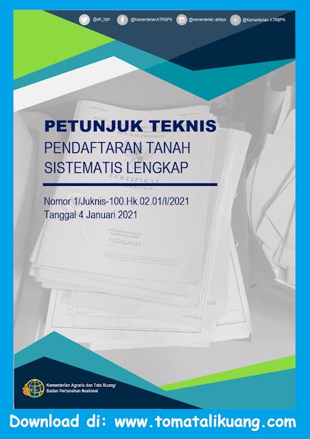 juknis pendaftaran tanah sistematis lengkap ptsl tahun 2021 pdf tomatalikuang.com