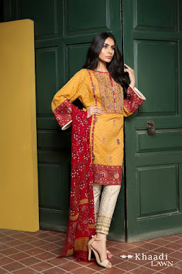 Khaadi-embroidered-lawn-suit-2017-chiffon-dress-collection-for-women-7
