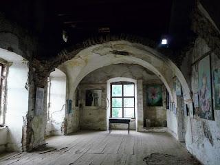 Замок Сент-Міклош. Реставрація другого поверху