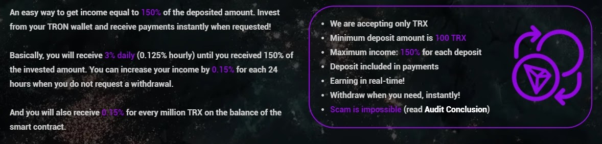 Инвестиционные планы Space of TRON