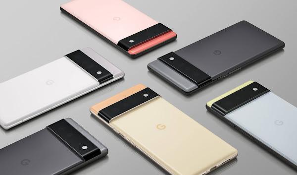 Google revela o Pixel 6, Pixel 6 Pro e seu primeiro chipset de smartphone personalizado