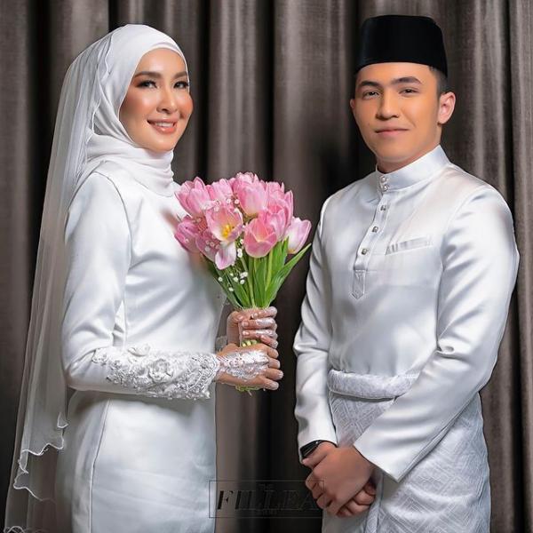 Intan Ladyana Sah Isteri Harris Alif - Tahniah!