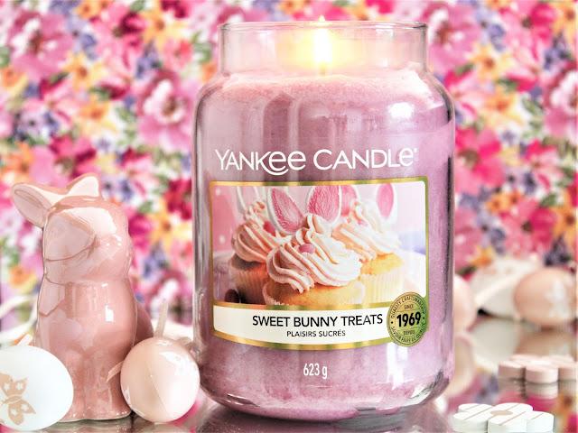 Yankee Candle Sweet Bunny Treats avis, sweet bunny treats, yankee candle plaisirs sucrés avis, plaisirs sucrés yankee candle, bougie de pâques yankee candle, bougie parfumée pâques, sweet bunny treats yankee candle, bougie yankee candle