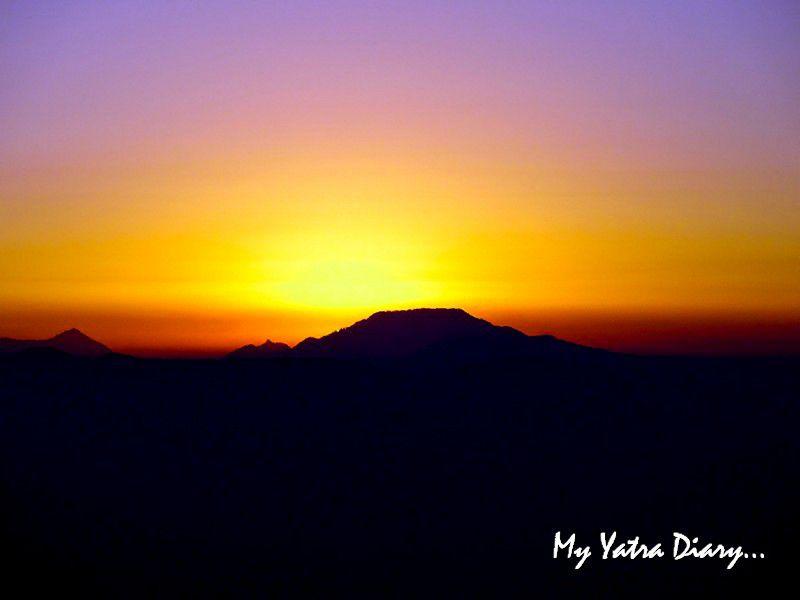 Surreal sunset at Mukteshwar Uttarakhand