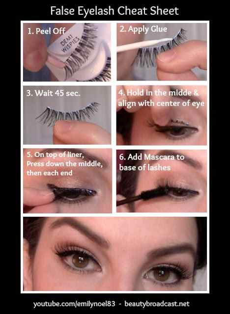70e50ee6a30 (Note: A different type of glue is used for individual eyelashes. Use the  correct glue/adhesive for the kind of eyelashes that you're applying to  your eyes) ...