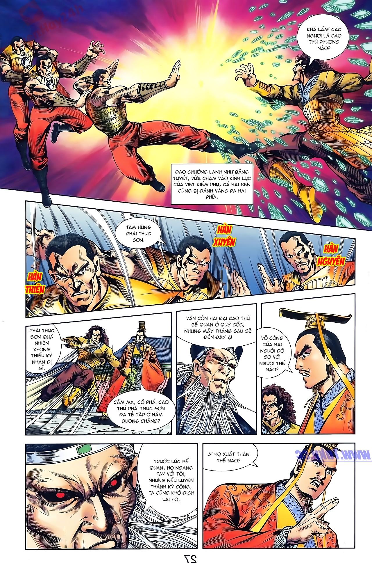 Tần Vương Doanh Chính chapter 43 trang 28