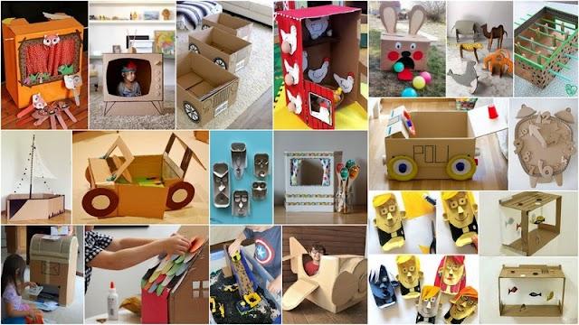 20 Παιχνιδοκατασκευές από Χαρτόκουτα για τις μέρες της ...καραντίνας