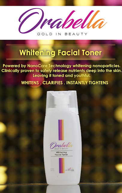 Orabella Whitening Facial Toner
