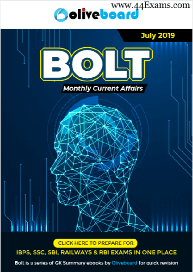 Bolt-Current-Affairs-July-2019-For-All-Competitive-Exam-PDF-Book