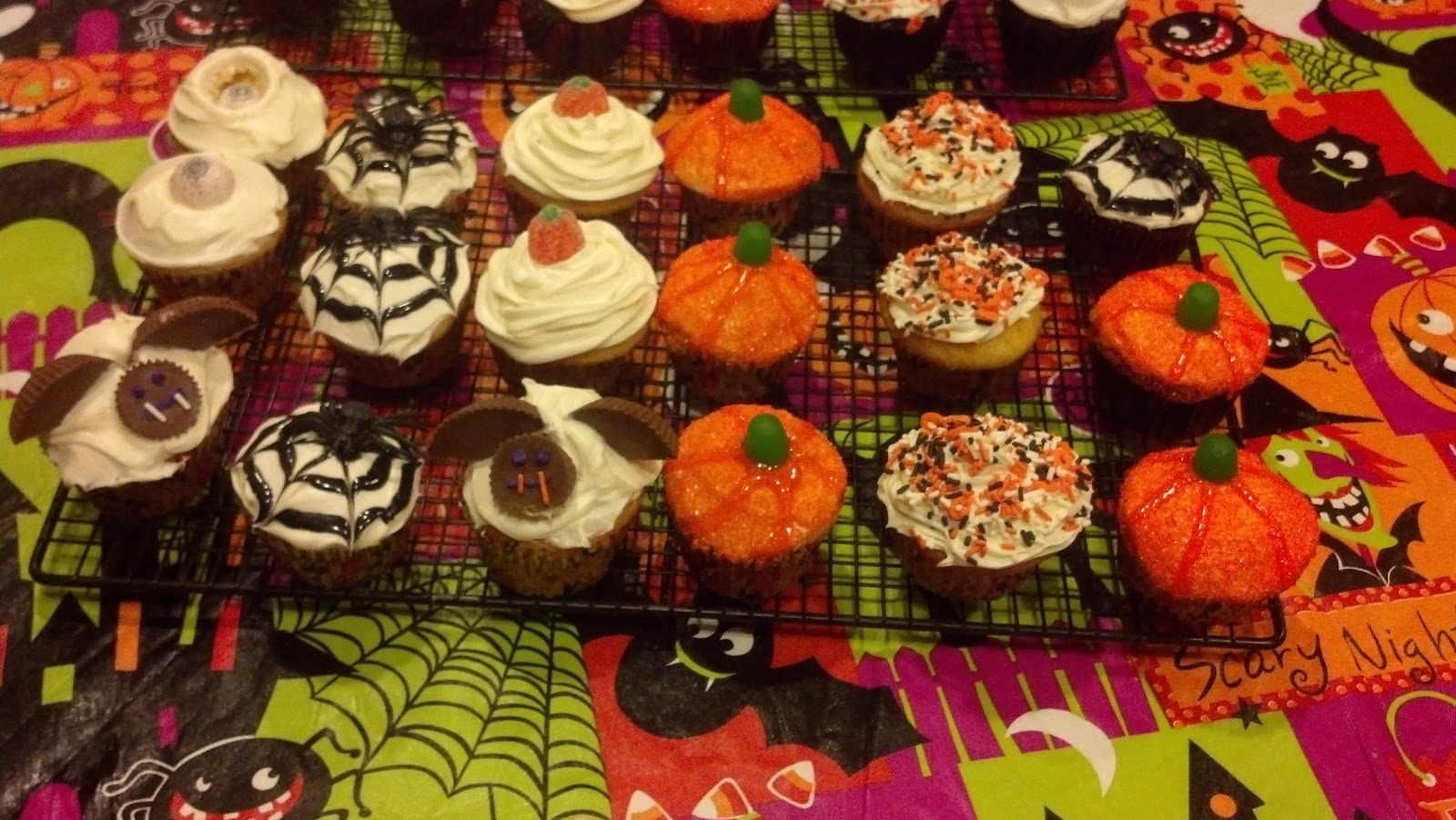 Homemade On Long Island Halloween Themed Desserts