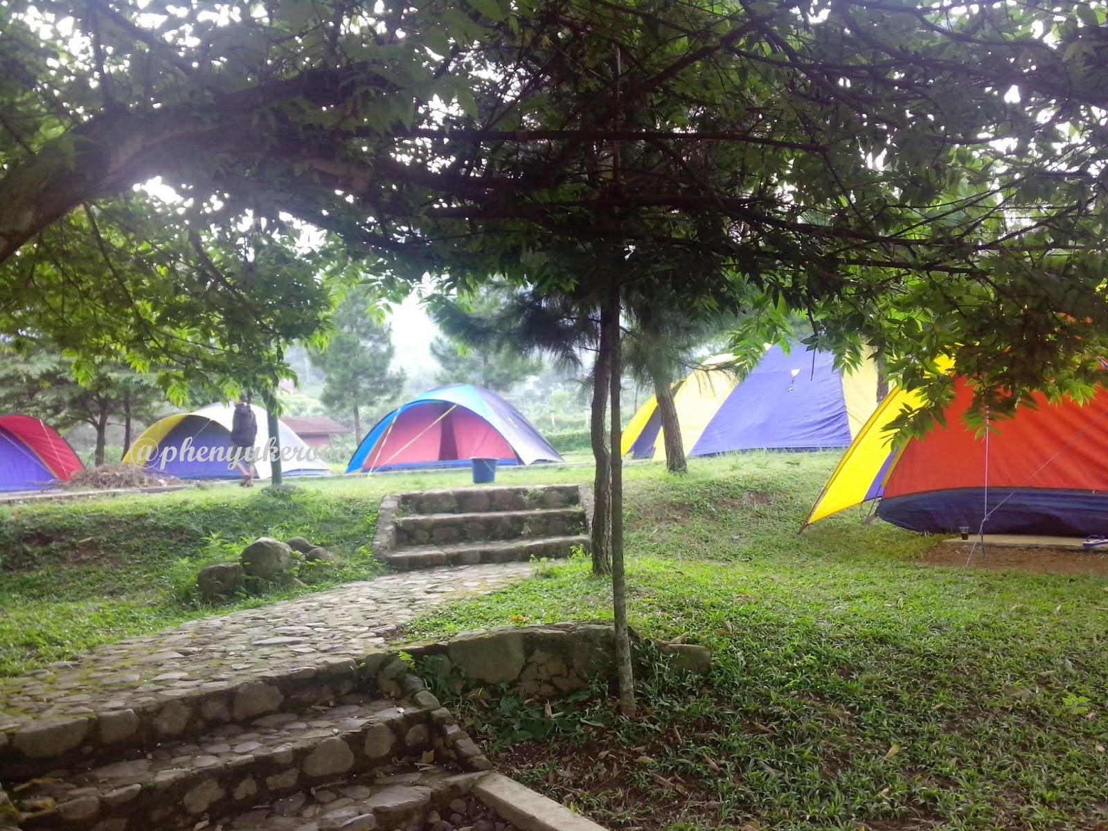 Bloggers Camping di Citra Alam Riverside, Cisarua - Weekend Enthusiast