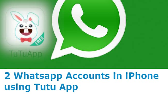 2 WhatsApp accounts without parallel space for iPhone