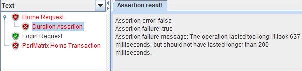 Assertion Result