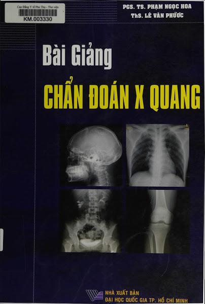 Bài giảng Chẩn đoán X-Quang