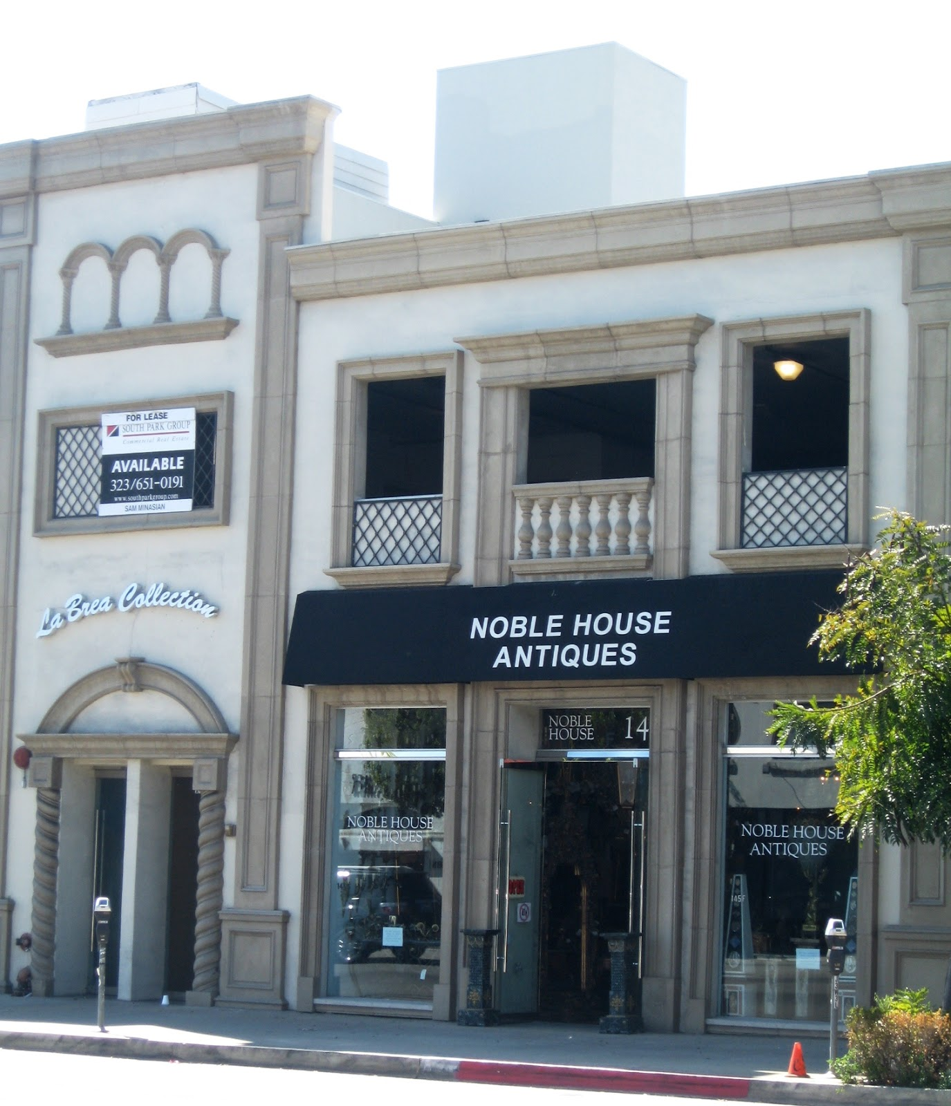 Noble House Furniture According To Braswell Walking On La Brea Ave New Shops