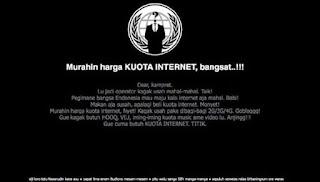 Hacker Bobol Telkomsel karena Harga Internetnya yang Mahal