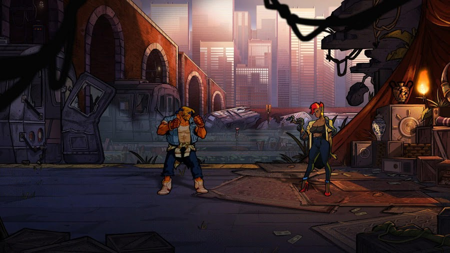 streets of rage 4 screenshots axel stone dotemu