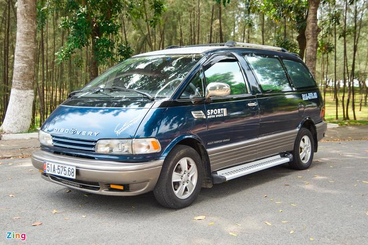 Ngắm 'nhà di động' Toyota Previa chỉ 170 triệu ở Sài Gòn