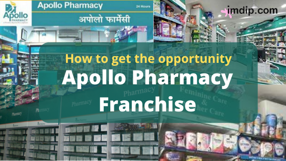Apollo pharmacy franchise business, cost, investments,