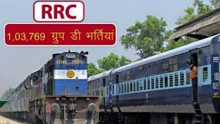 RRB Group D Exam Date 2019-2020 (RRC CEN 01/2019) Latest News Today
