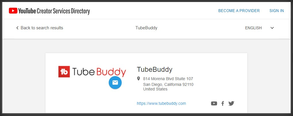 ekstensi tubebuddy di chrome