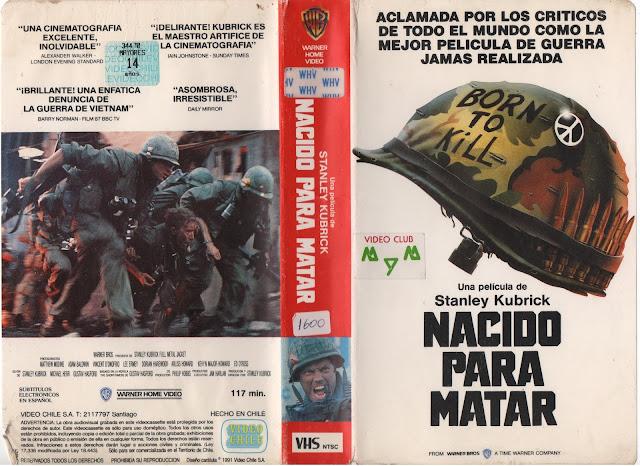 "Pelicula: ""Nacido para Matar"" - 1987"