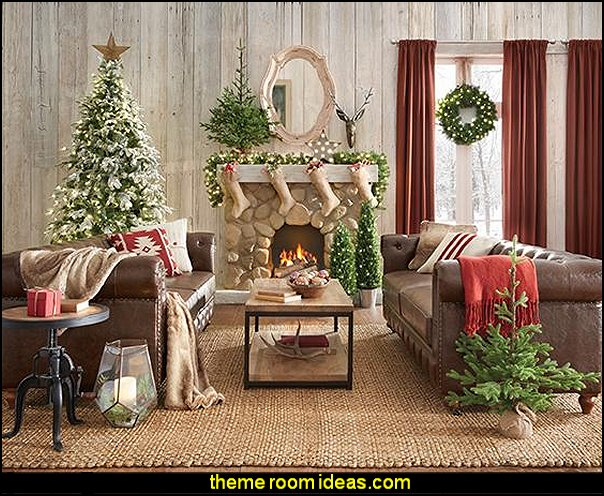 rustic christmas decorating modern rustic christmas modern farmhouse decorating christmas theme