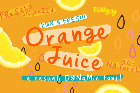 Orange Juice Font