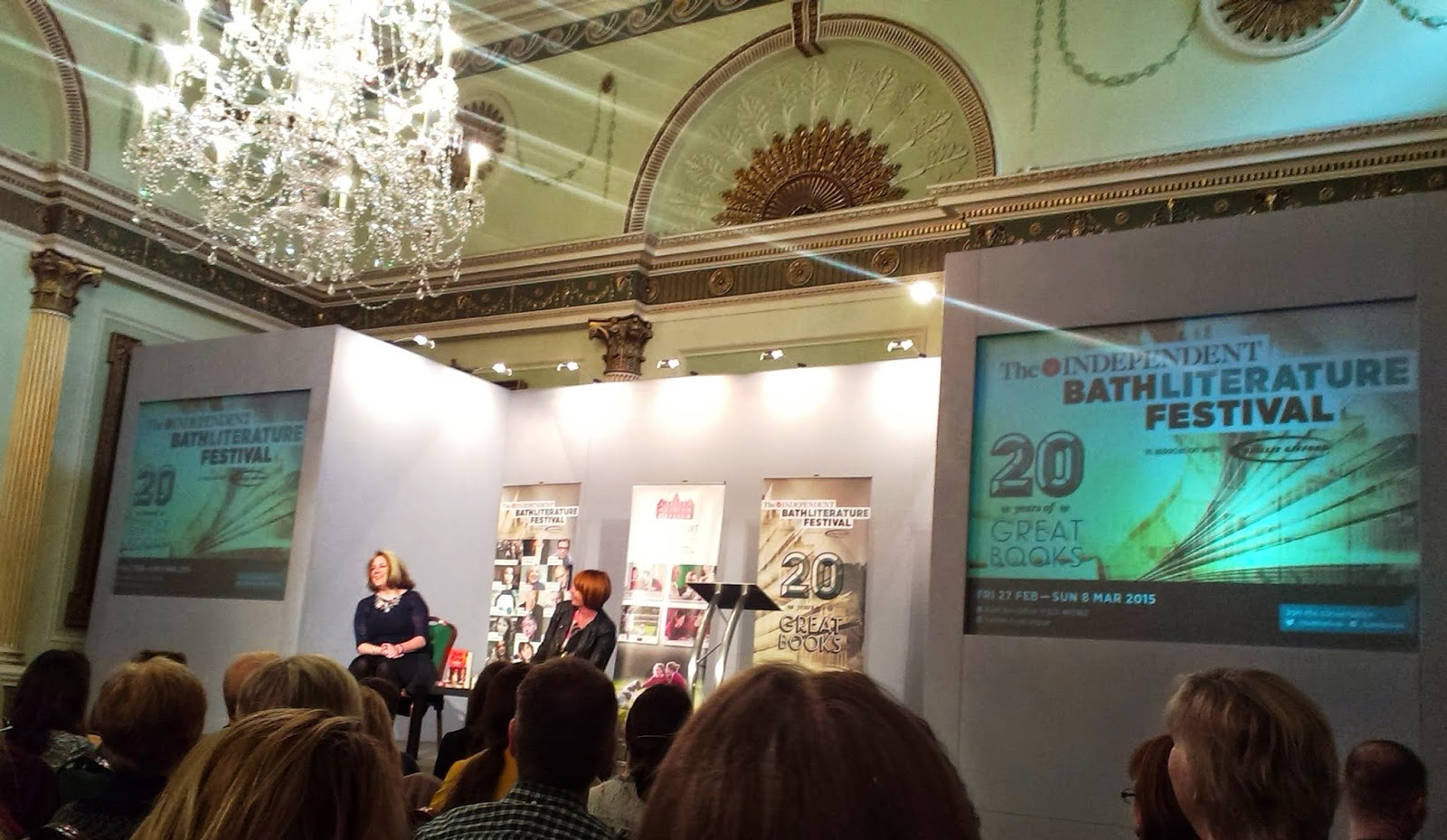 Mary Portas at Bath Literature Festival