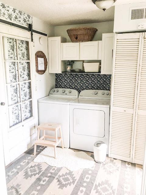 sliding laundry room door