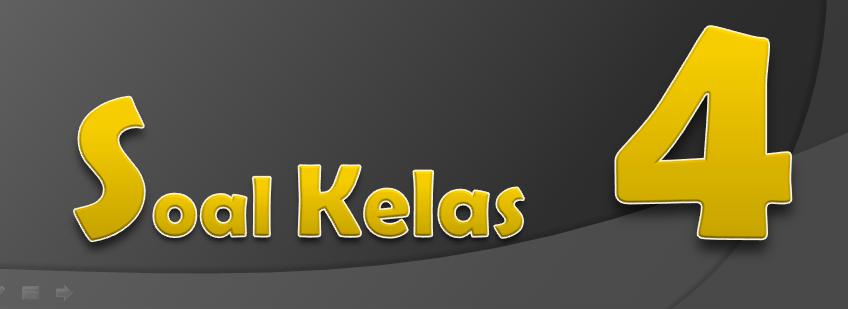 Soal Uts Genap Bhs Indonesia Kelas 4 Semester 2 2015 Kurikulum 2006 Ktsp Kumpulan Soal Ktsp