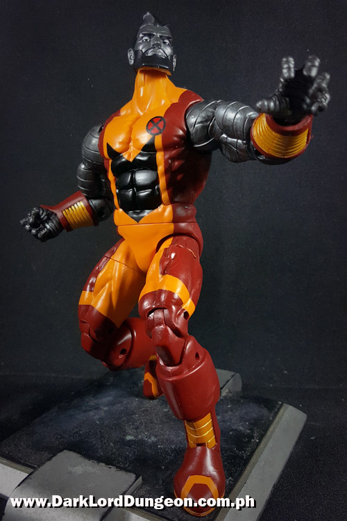 Marvel Legends Colossus looking down at you
