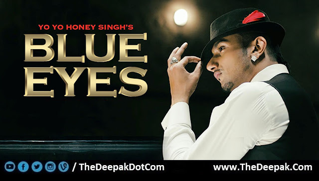 Blue Eyes Guitar Chords, Hindi, Punjabi, English song by YO YO HONEY SINGH