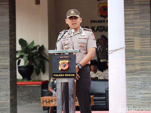 Kapolres Bogor AKBP Andi Mochammad Dicky Pastika