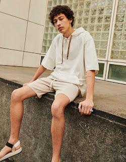 INYIM Media Fashion Brand: BERSHKA Menswear Spring Summer 2021 Season W/ Model Max Fieschi!