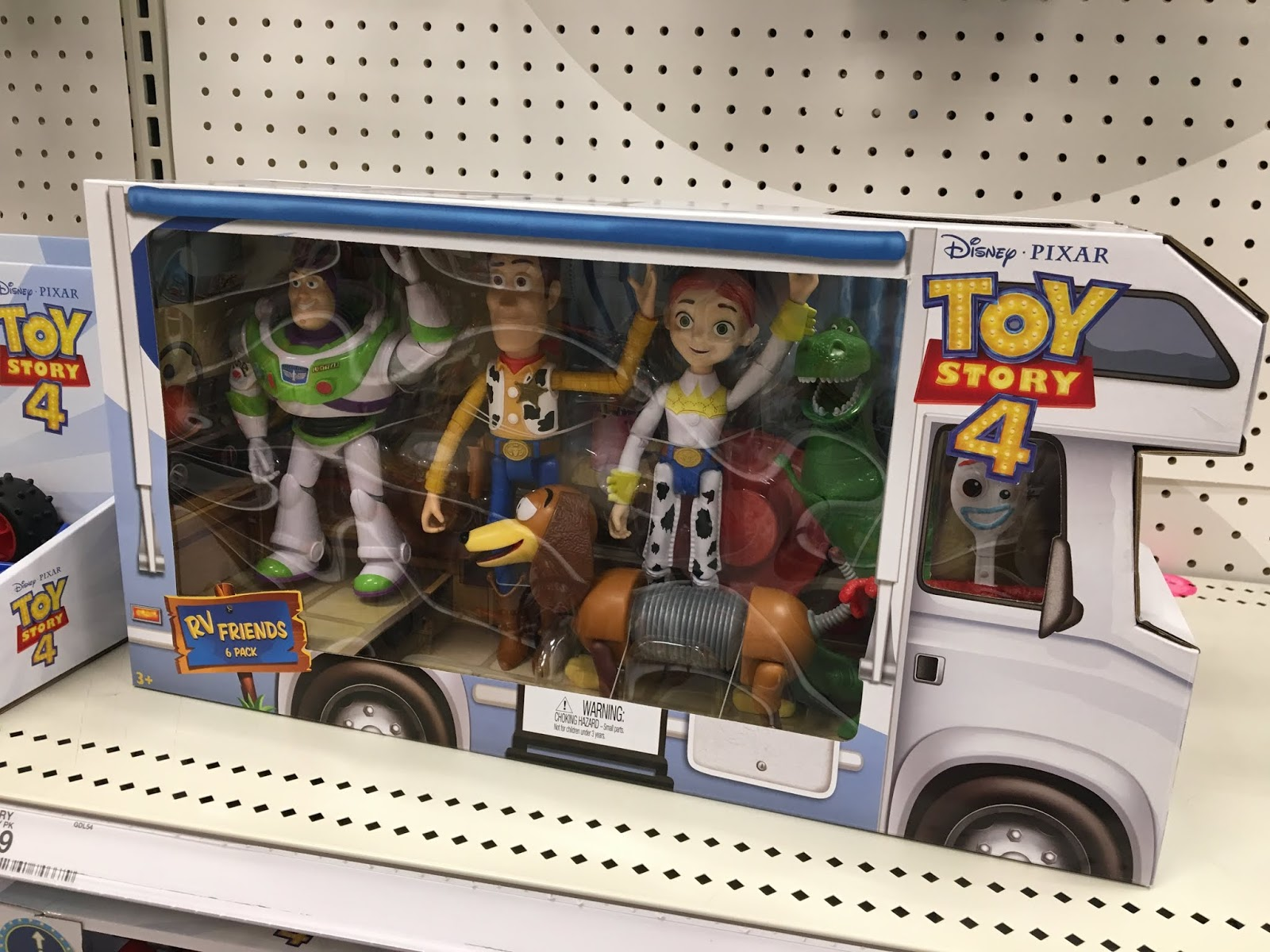 toy story 4 RV figure set