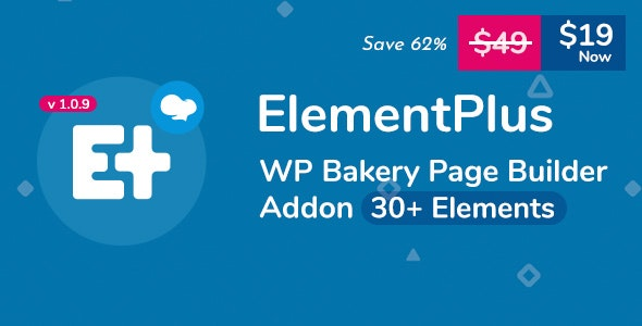 Download Element Plus v1.0.8 - WPBakery Page Builder Addon (Formerly Visual Composer)