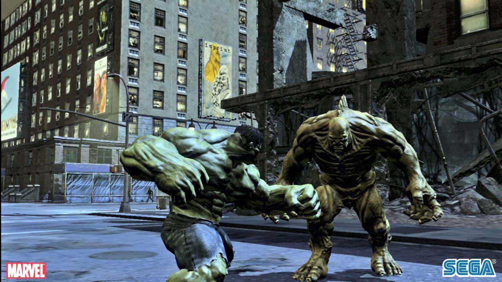 تحميل لعبة The Incredible Hulk مضغوطة برابط واحد مباشر كاملة مجانا