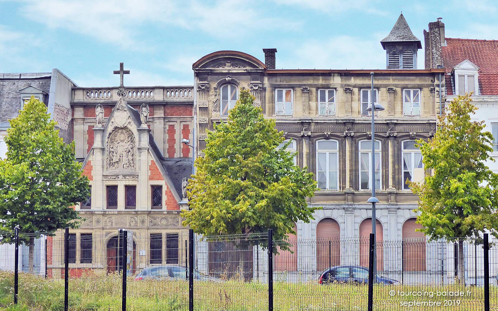 Monastère des Bénédictines et Chapelle du Voeu - 18 rue Faidherbe, Tourcoing