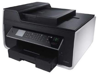 W Wireless All inwards One Inkjet Color Photo Printer Dell V725W Driver Downloads