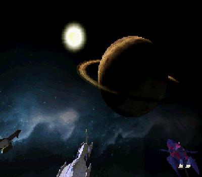 Infinite Space - Planeta con anillo