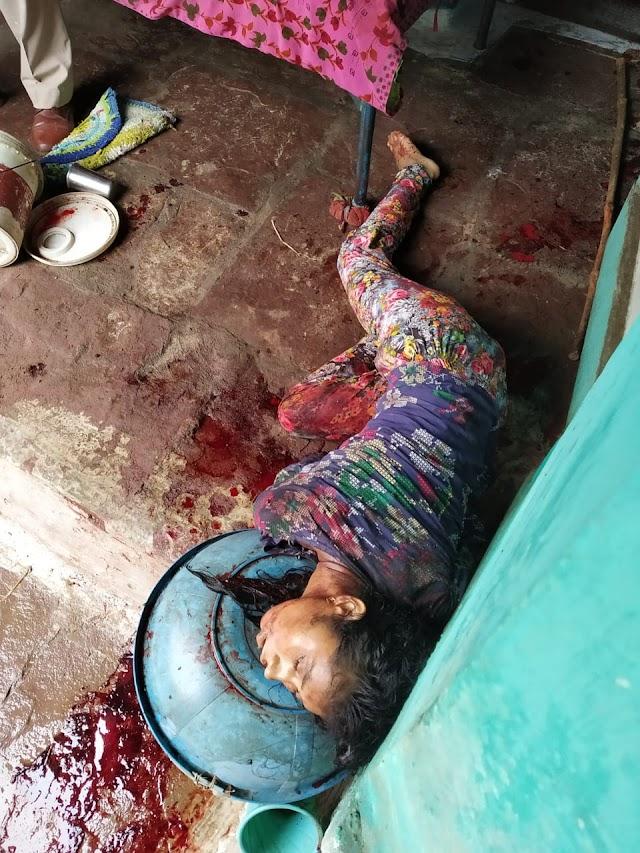 मोपका में एक लड़की और उसके दादी माँ की कर दी गई हत्या