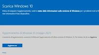 Aggiornare Windows 10 con l'Update 21H1 di Maggio 2021
