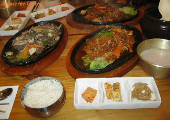 Fremantle City - a feast of Korean dishes