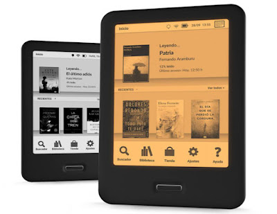 E-Reader Cervantes tecnología Optimalight