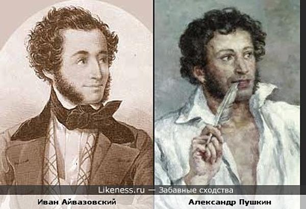 державин был ли знаком с пушкиным
